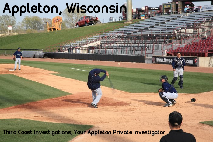 Baseball team in Appleton area, Third Coast Investigations is their Appleton Private Investigator