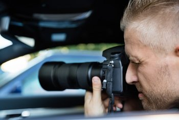Appleton Private Investigator conducting surveillance